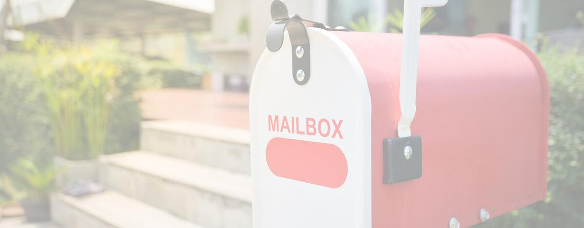 price of direct mail- mail box