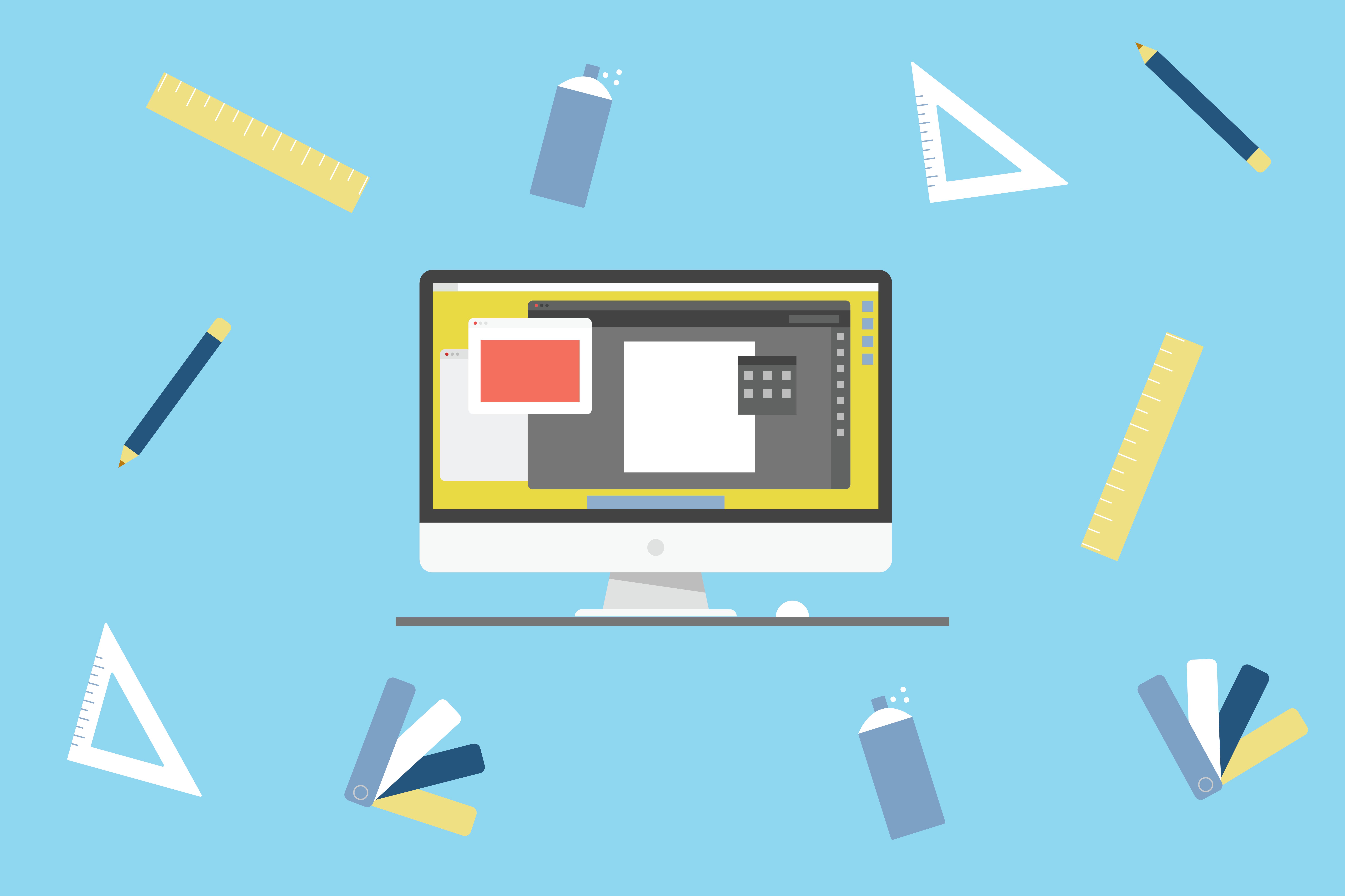 graphic design element icons