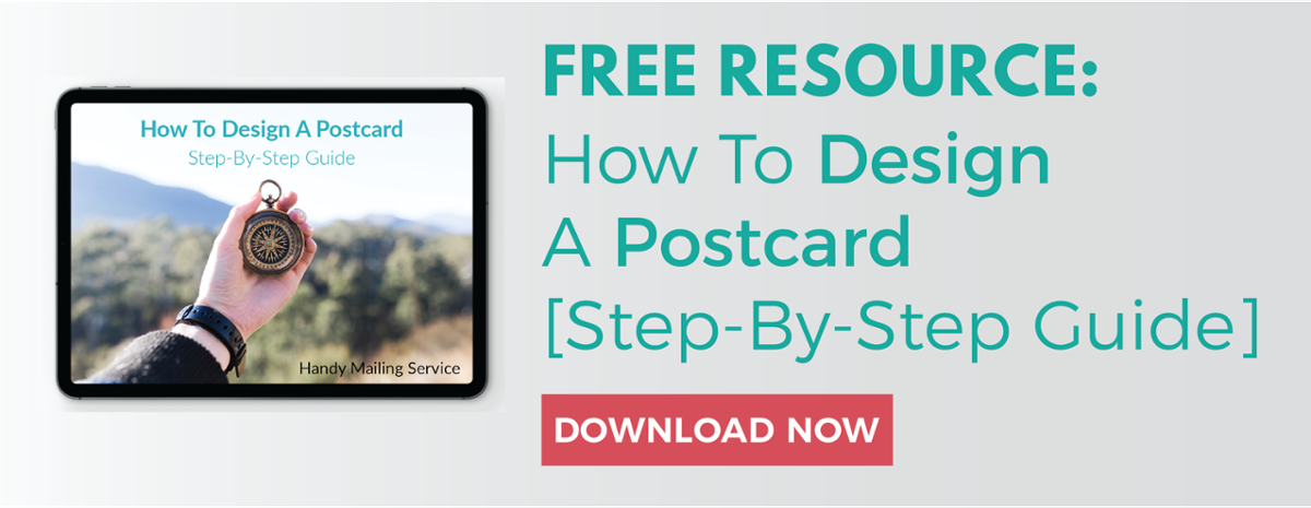 how to design a postcard-cta